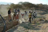 Aibaba-Azafa scavi per tubature
