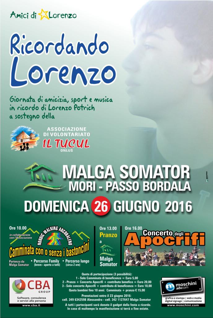 Locandina Lorenzo 2016