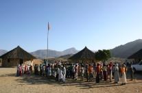 scuola di bsgdira costruita dal Tucul