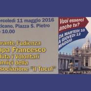 udienza papale 11 maggio 2016
